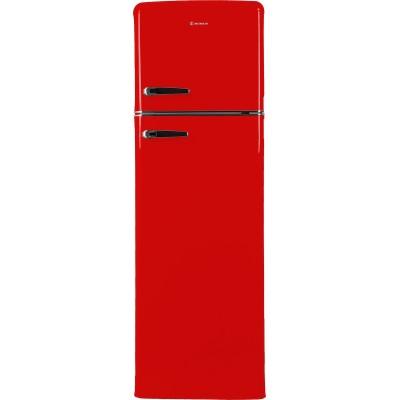 Morris MRS31240R Retro Red Ψυγείο Δίπορτο