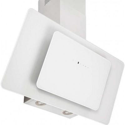 Pyramis Fiero 90cm Απορροφητήρας Τζάκι White 065023201