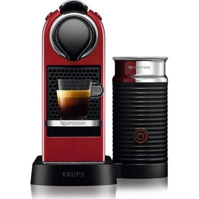 Krups XN7615S Citiz & Milk Red
