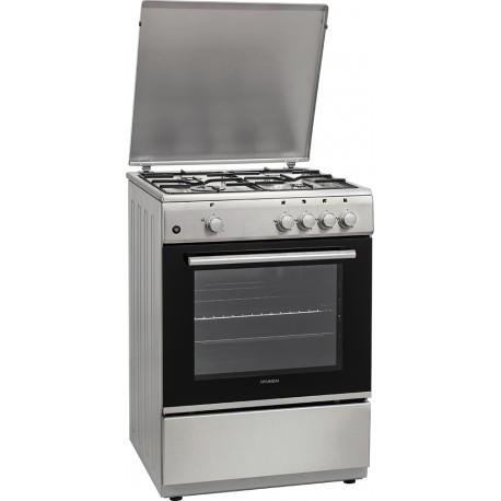 Hyundai HCG19-72L604G/X Κουζίνα Υγραερίου (έως 12 άτοκες δόσεις)