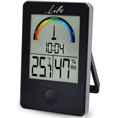 Life WES-100 Ψηφιακό Θερμόμετρο και Υγρόμετρο