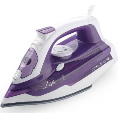 Life SI-100 Silky Purple Σίδερο ατμού