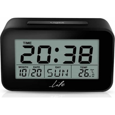 Life ACL-201 Ψηφιακό Ρολόι/Ξυπνητήρι