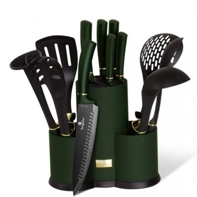 Berlinger Haus BH-6250 Emerald Collection Σετ μαχαίρια και εργαλεία κουζίνας 12 τμχ.