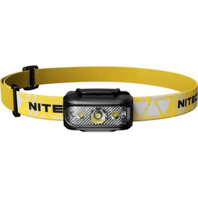 NiteCore NU17 Black Επαναφορτιζόμενος Φακός Κεφαλής