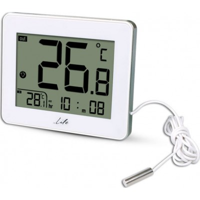 Life WES-202 Ψηφιακό θερμόμετρο εσωτερικής και εξωτερικής θερμοκρασίας