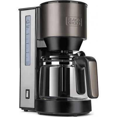 Black & Decker BXCO1000E Grey Καφετιέρα Φίλτρου 1000W