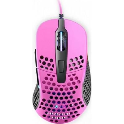Xtrfy M4 RGB Ultra-Light Gaming Mouse Pink