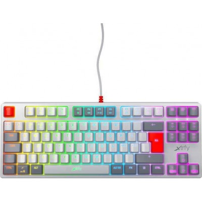 Xtrfy K4 TKL RGB Retro (Kailh Red) Mechanical Gaming Keyboard (UK)