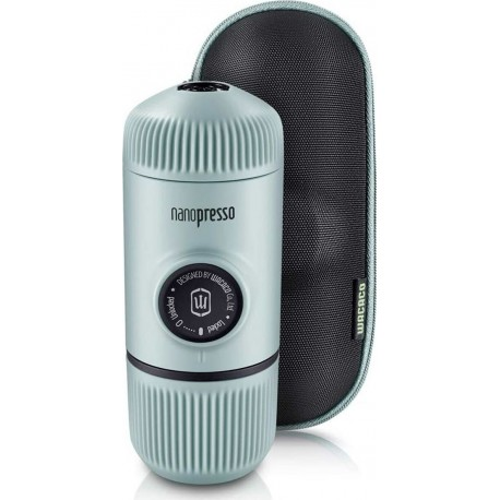 Wacaco Nanopresso Arctic Blue Μηχανή Χειρός Espresso + Θήκη