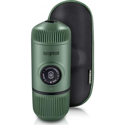 Wacaco Nanopresso Moss Green Μηχανή Χειρός Espresso + Θήκη
