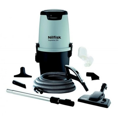 Nilfisk ALL-IN-1 Supreme 250 Deluxe Ηλεκτρική Σκούπα Κεντρικής Εγκατάστασης
