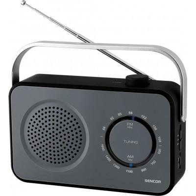 Sencor SRD 2100 Black Φορητό Ραδιόφωνο