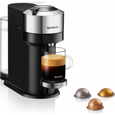 Delonghi ENV120.C Vertuo Next Deluxe Pure Chrome Μηχανή Nespresso
