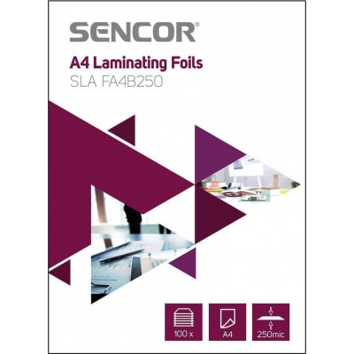 Sencor SLA FA4B250 Ζελατίνες Πλαστικοποίησης