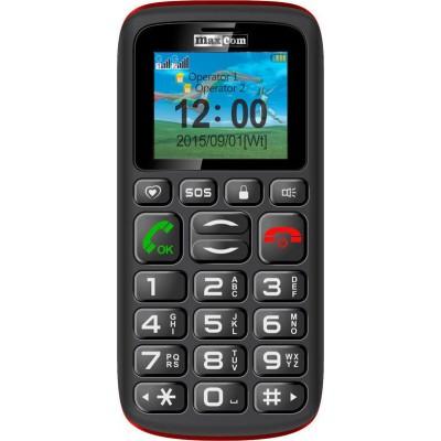 Maxcom MM428BB (Dual Sim) με Μεγάλα Πλήκτρα, Φακό και Πλήκτρο SOS