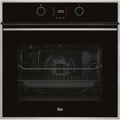 Teka HLB 840 P Wish (F.568.SS) Hydroclean PRO 60cm Inox/Μαύρο Κρύσταλλο Πυρολυτικός Φούρνος - Σε 12 άτοκες δόσεις